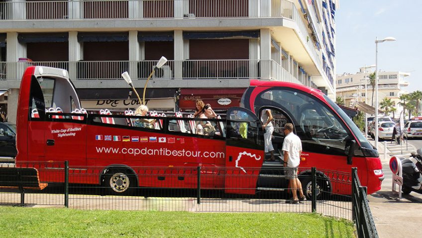 Bus cap antibes tour